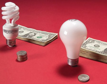 <b>Question</b></br> CFLs cost five or six times as much as regular bulbs. How long do I need to use them before I recoup my investment?