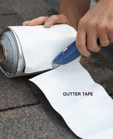 Gutter Repair Fix Leaky Metal Gutters
