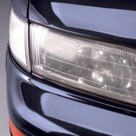 <b>Clean cloudy headlights</b></br> If you have cloudy headlights, you don't have to replace them or live with them. Clean them with a specially designed kit.