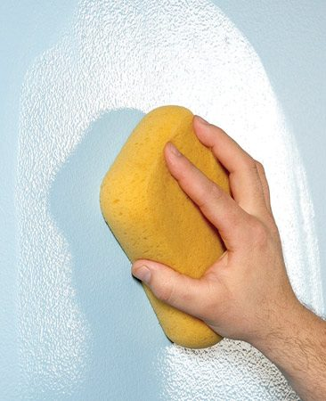 <b>Use slightly soapy water</b></br> Static electricity makes dust, lint and even pet hair stick to walls. Rolling paint without cleaning the wall will enshrine them Pompeii-style for all to see. Plus, paint adheres better to clean walls. So wipe down the walls with a damp sponge and warm water before painting. Add a smidgen of dishwashing liquid to the water. A couple of drops is just enough to cut through oil and greasy fingerprints without creating suds that you'll have to wipe off later.
