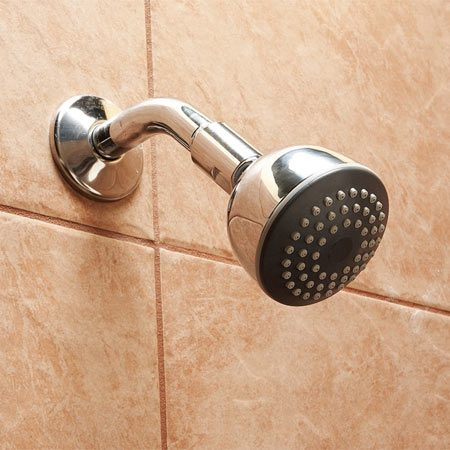 <b>Anti-scald showerhead</b></br> Replace showerheads and tub spouts with anti-scald fixtures to avoid dangerously hot water.