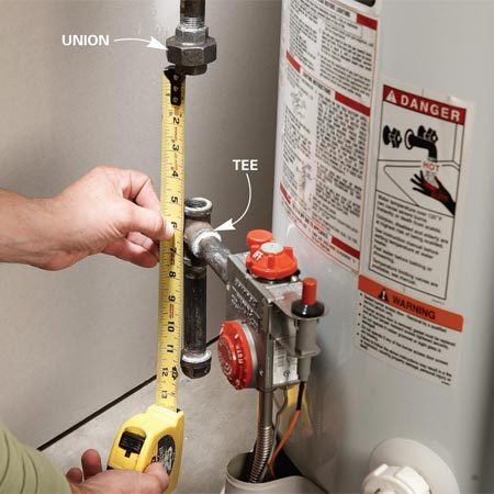 Water Heater Installation The Family Handyman