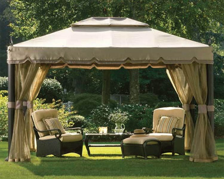 <p>Screened canopy</p>  <p>Photo courtesy of Home Depot</p>