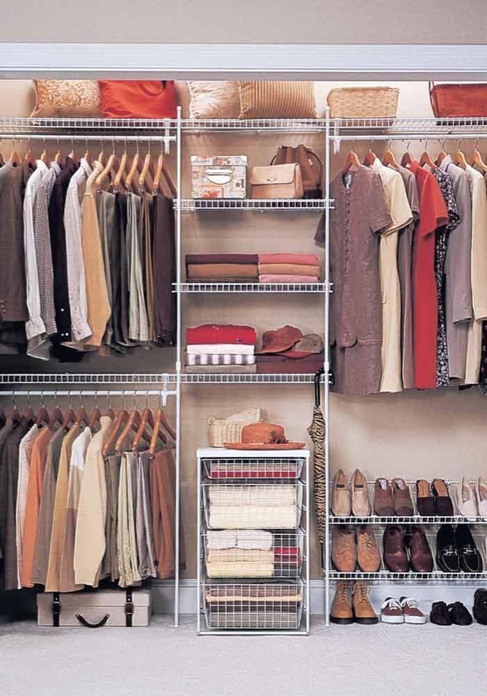 <p>Closet organizer</p>  <p>Photo courtesy of ClosetMaid</p>