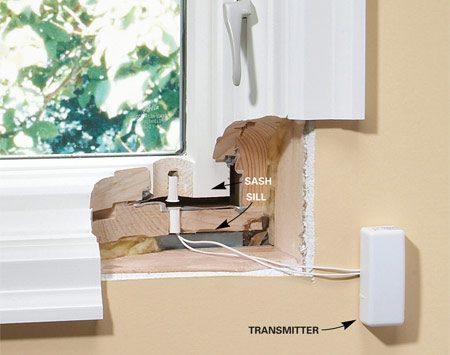 Hidden magnet system