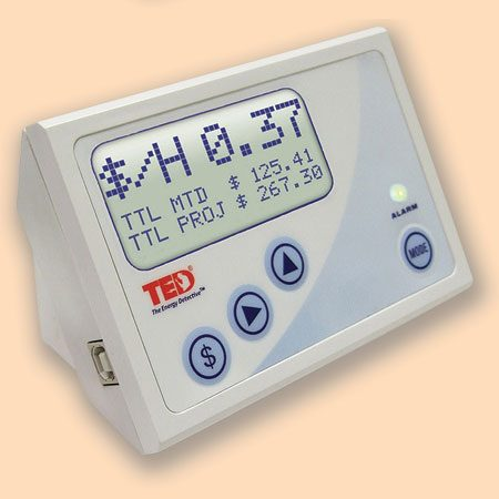 <b>Meter reader</b></br> A meter reader displays real-time usage and records consumption info so that you can watch your watts over a longer time frame.