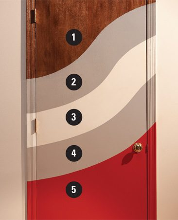 Door Refinishing Painting Varnished Doors The Family