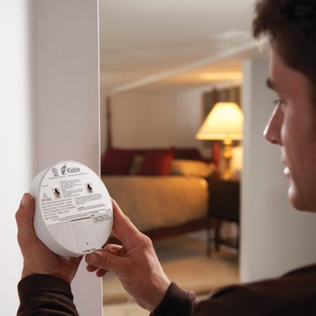 <b>Check your CO detector</b></br> Check the back of your detector for either a build date or an expiration date. If there's no date or it's more than seven years old, replace it now.
