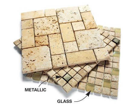 Save. Sheets of mosaic tile - How To Tile A Backsplash The Family Handyman