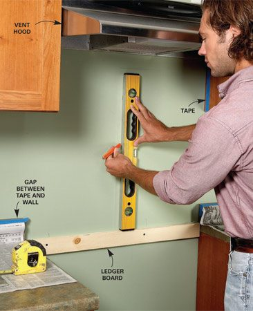 How To Tile A Backsplash The Family Handyman
