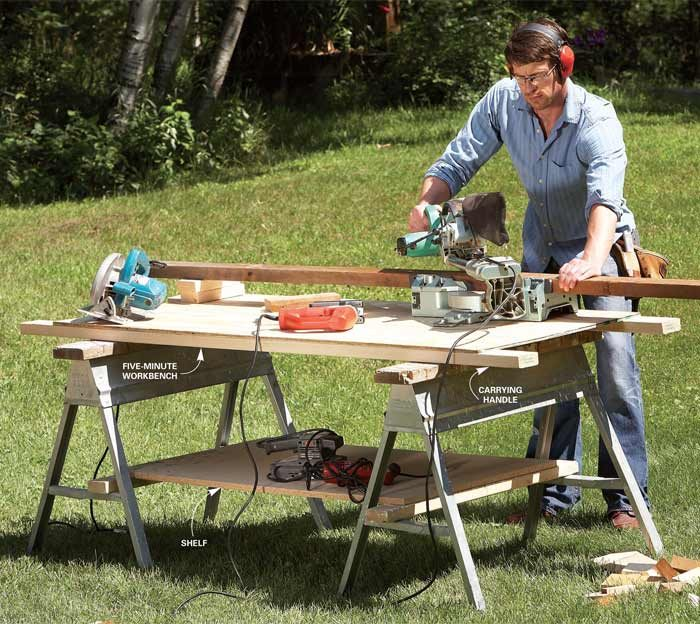 5-Minute workbench parts