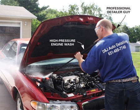 <b>Professional detailing</b></br> Save time and money by hiring a professional detailer. Tell buyers that a professional did the work—it's a selling point.