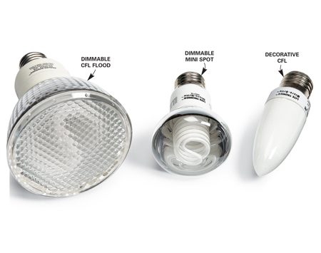 <b>Outdoor CFLs</b></br> Save energy and still use dimmers with these flood, spot and decorative CFLs.