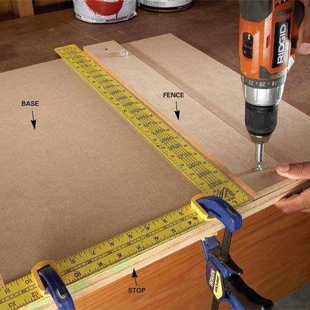 Two essential saw cutting guides the family handyman for Woodworking guide