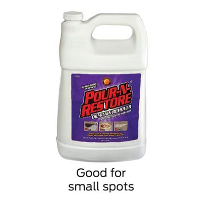 <b>Small spot cleaner</b><br/>Pour-N-Restore product. Good for small spots.
