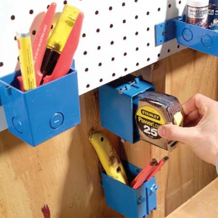 <b>Junction boxes comes in different shapes and sizes.</b></br> Junction boxes hold a variety of tools and gear.