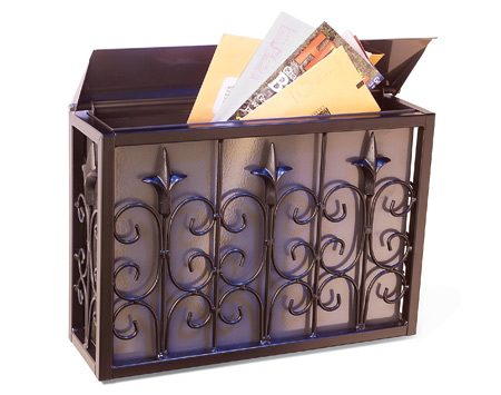 <b>Add a new mailbox</b><br/>A new mailbox updates your home's overall appeal.
