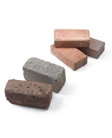 <b>Bricks and pavers come in a variety of colors and textures</b></br> You'll find a wide assortment of pavers at brickyards and garden centers.