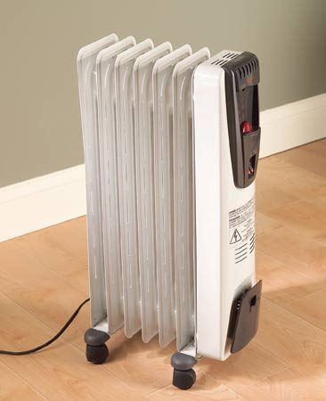 <b>Space heating</b></br> Space heaters cut heating bills only if you turn down the temperature in the entire house. The heaters work best in walled-in rooms (rather than in open spaces), where the heat can be contained.