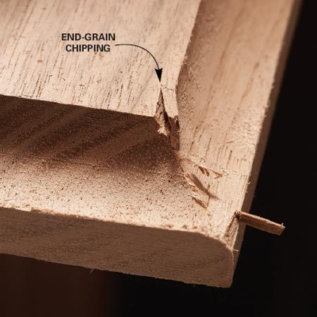 <b>Plan the cuts</b></br> If you're planning to rout the ends as well as one or both sides of a board, rout the two ends first. Here's why. End grain has a tendency to split out as the bit exits the end of the cut.