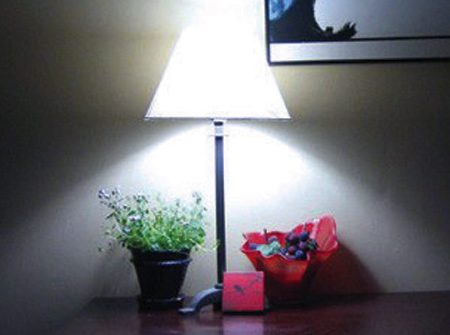 Bluish-white light