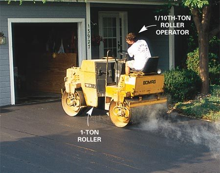 <b>Compacting</b></br> Experienced contractors have the right equipment and an understanding of how to use it.