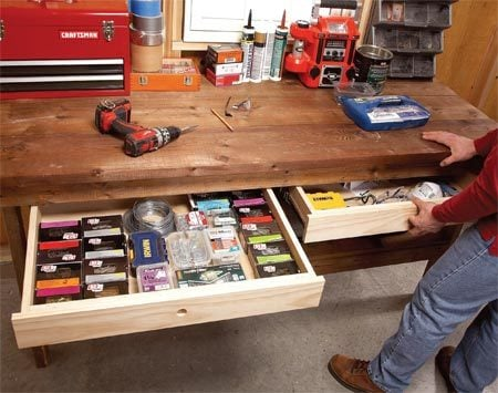 diy workbench upgrades the family handyman garage add ons designs garage add ons attached house