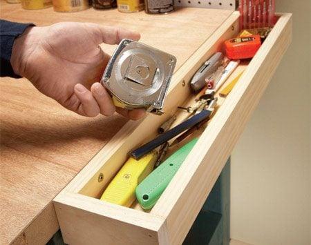 <b>Handy tool tray</b></br>
