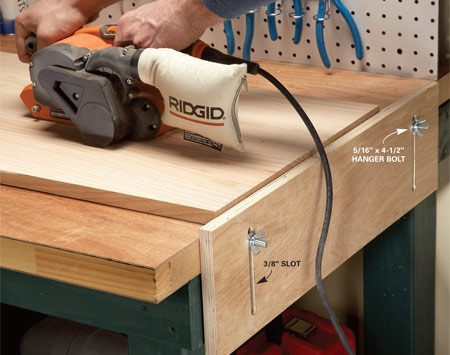 <b>A simple stop or outfeed support for your miter saw</b></br>