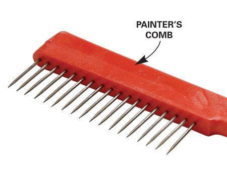 <b>Painter's comb</b></br>
