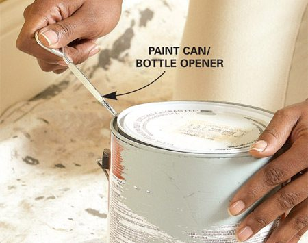 <b>Paint can opener</b></br>