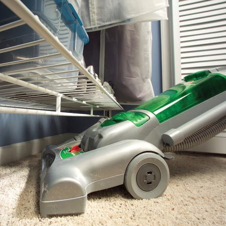 <b>Clutter-free closet floor</b></br> Keep closet floors free of shoes, box and other obstacles for quick, easy vacuuming.
