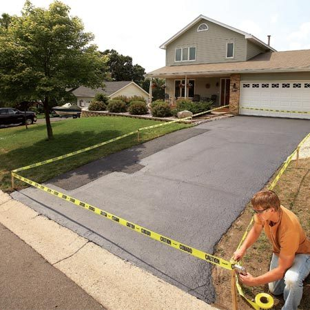 <b>Add curb appeal</b></br> A well-maintained driveway keeps the front of your home looking attractive.