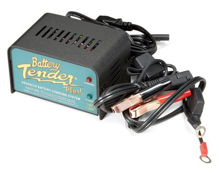 <b>Keep the battery charged</b></br> A battery maintainer won't damage your battery like a trickle charger. They have smart monitoring circuitry that charges the battery only when it needs it. So connect one to your battery and it will be fully charged and ready to fire up in the spring.