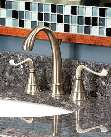 <b>High-quality faucet</b></br> Buy a high-quality faucet; it pays off in the long run.