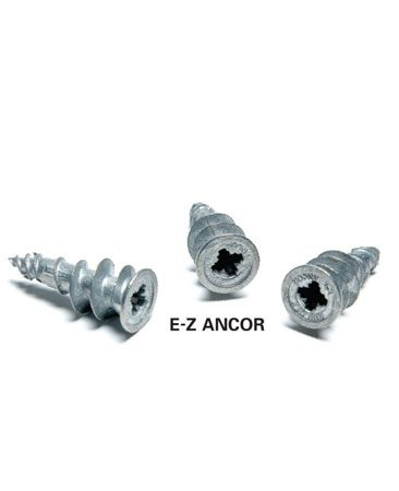 <b>Photo 2A: Drywall anchors</b></br> These anchors are quick and easy to install.