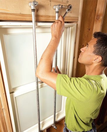 <b>Window bars</b></br> Make your own window bars for a fraction of the cost of factory-made bars.