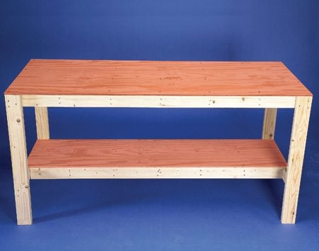 How To Build A Workbench Super Simple 50 Bench The
