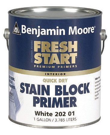 <b>Stain-blocking primer</b></br> Primers are generally white, but can be tinted.