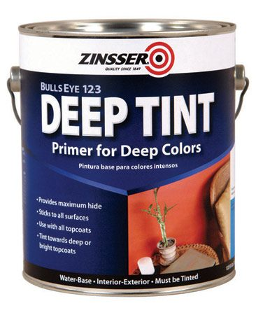 <b>Tinted primer</b></br> You can buy some primers pre-tinted to help in top coats cover better.