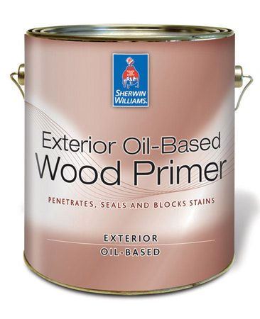 <b>Stain-blocking primer</b></br> Oil-based stain-blocking primers keep stains from bleeding through the topcoat.