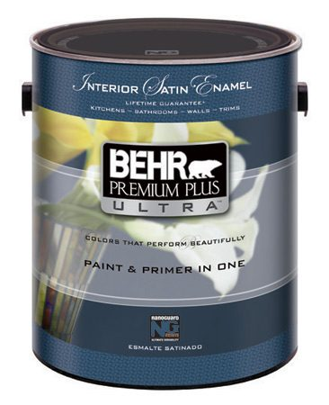 Can of self-priming paint