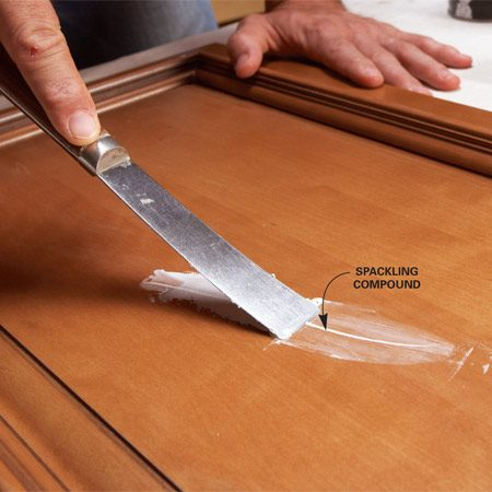 how to give metal a darker stain