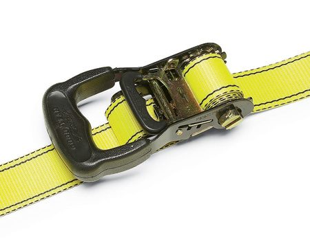 <b>Get the right equipment</b></br> <p>Rule No. 1 in safely securing your load is to buy a set (four minimum) of heavy-duty 15-ft. ratchet straps (minimum 1,000-lb. load limit/3,000-lb. break strength). Sure, rope and bungee cords work fine if you drive slow and don't hit any bumps or get into an accident. But in the real world, you have to be prepared to swerve or come to an emergency stop, without ejecting your cargo. That's precisely when rope, bungees and twine fail.</p>  <p>Stay away from wimpy straps. Buy heavy-duty ratchet straps (1-1/4 in. or wider) and store them in a box in your cab to protect them from moisture and sunlight.</p>