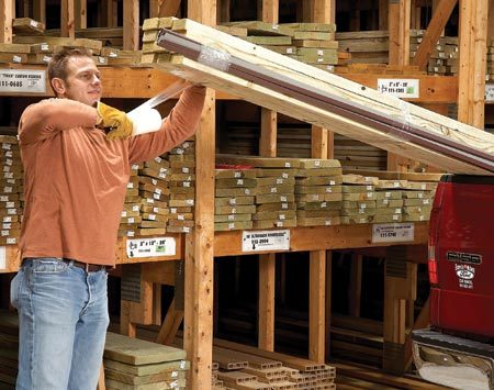 <b>Protect against breakage</b></br> Just about every home improvement job involves hauling 10-ft. lengths of some type of flimsy material. But things like drip edges, flashing, plastic conduit or siding will all flop around and get damaged on the way home. So while you're at the store, buy a roll of stretch cling film. Wrap both ends. If lumber is part of the load, wrap the fragile bundle with it for added support.
