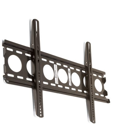 <b>Mounting hardware</b></br> <p>The downside of   these mounts is that they don't   allow tilting or other adjustments.   So if you plan to hang   your TV far above eye level, a   low-profile mount isn't the best   choice. The pricier mounts hold   the TV just 1/2 in. from the   wall—the less expensive models   about 1-1/2 in. </p>
