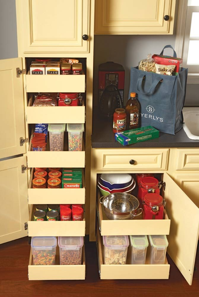 Kitchen Storage: Cabinet Rollouts | The Family Handyman
