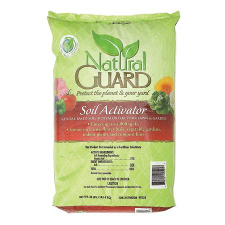 <b>Soil activator</b></br> Soil activator is available at lawn and garden centers.