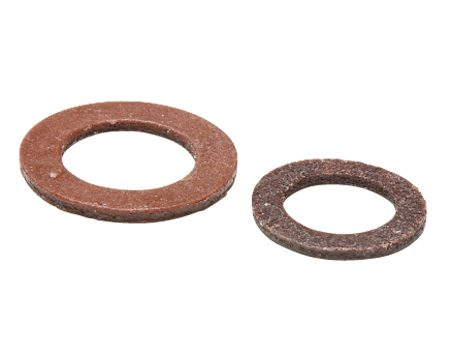 <b>Leather washers</b><br/>Old-timers prefer leather washers, which will last longer than neoprene washers.