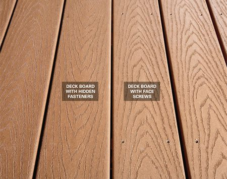 How to choose composite decking the family handyman for What is the best wood for decking